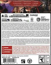 Assassin's Creed Chronicles PS Vita **SHIPS IN 24 HOURS**