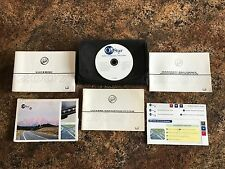 2007 Buick Lucerne Owners Manual w/ Navigation Manual & Case w/ Supplements - #F