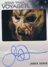 Star Trek Voyager Heroes & Villains Autograph Card James Horan as Tosin