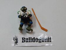 Slap Shot Leo w/ Stick Teenage Mutant Ninja Turtles Figure 1991 Sports TMNT