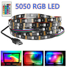 5050 RGB LED STRIP USB Colour Changing Lighting Kit -TV, PC Background LED Light