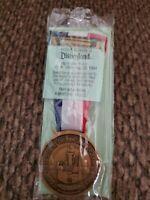 Vintage 1984 DISNEYLAND Olympic Spirit Passport Medal