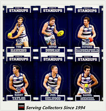 2017 Select AFL Footy Stars Trading Cards Footy Standups Team Set (6)-GEELONG