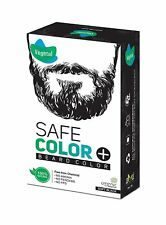 Vegetal Safe Beard Colour(Soft Black)25g 100%Natural With Organic elegance FreeS