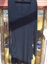 Ladies Peruzzi Dress Charcoal Size 12/14