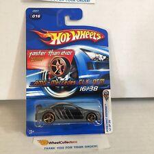 #1  AMG-Mercedes CLK DTM #16 * Grey w/ FTE Rims * 2006 Hot Wheels * NB11