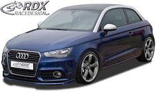 Lip spoiler,Bumper, Extension, Splitter,Front Spoiler AUDI A1 8X & A1 8XA