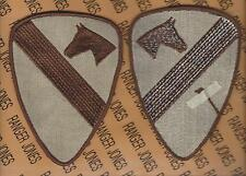 US Army 1st Cavalry Division uniform Desert DCU 5 inch patch m/e