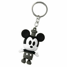 Mickey Keychain Key Holder Steamboat Willie 3D Disney Store Japan