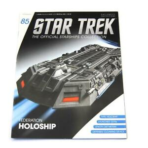 Star Trek Eaglemoss Starship Collection Federation Holoship 85 Magazine Only