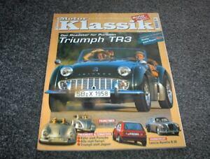 Motor Klassik Zeitschrift Heft 10/1999 Triumph TR 3
