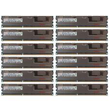 96GB Kit 12 8GB HP Proliant BL2X220C BL460C BL465C BL490C BL620C G7 Memory Ram