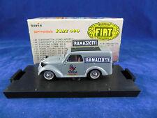 Brumm R53 Fiat 500 Commercial Publicity Van A Ramazzotti in Grey