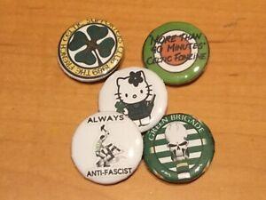 Celtic Button Badges