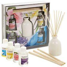 4 Düfte Reed Diffusor Aroma Lufterfrischer Geschenkset 50ml Öle Heim Düfte