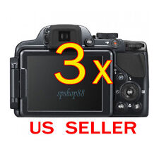 3x Clear LCD Screen Protector Guard Cover Shield Film For Nikon Coolpix P520