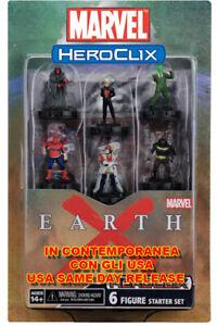 WIZKIDS Marvel Heroclix Earth X Démarreur Set
