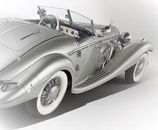 Mercedes Benz Sport Car GT Concept 18 Vintage 1 Carousel SI LVER 24 CL E 12 G 43