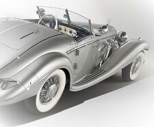 1 Mercedes Antique Vintage Sport 300 Race Car 18 Racer Midget 24 Metal Sl 12