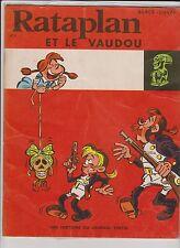 Rataplan et le Vaudou. Lombard 1969 broché - EO. TB