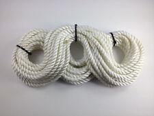 3 Strand Polyester Rope 13.5mtr x 8 mm-fin de bobine à-côté Fender Corde d'amarrage