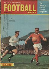 Charles BUCHAN magazine dec 1964 Preston, Norwich, Sunderland, Morton, coeurs,