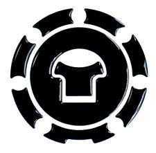 Tankdeckel 3D Pad Black/Schwarz 600032 kompatibel für Honda Tanks