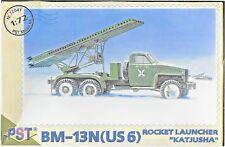 Soviet BM-13  (GMC) Rocket Launcher 1/72 Scale PST 72042 (free shipping)