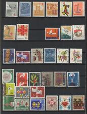 Yougoslavie timbre de bienfaisance un lot de timbres neufs & oblitérés/T2163