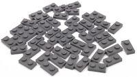 LEGO - 50 x Platte 1x2 dunkelgrau / Dark Bluish Gray Plate 1 x 2 / 3023 NEUWARE