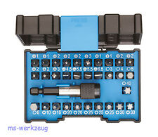 Gedore 666-032-A Bit-Box Allround 32-teilig inkl. Bithalter m Schnellspannsystem