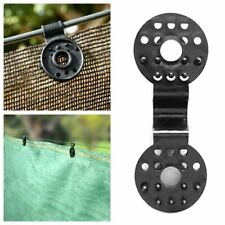 10pcs Instant Grommet Shade Cloth Sails Screen Tarp Greenhouse Net Film Clips