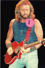 THE BEE GEES BARRY GIBB 8 - 4X6 COLOR CONCERT PHOTO SET #15A