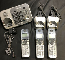 Panasonic KX-TG7741 3 Cordless Phone set w/ Bases & Digital Answering Machine