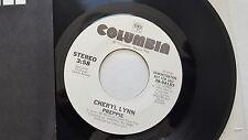 """CHERYL LYNN - Preppie 1983 PROMO DISCO FUNK SOUL 7"""" (NM)"""
