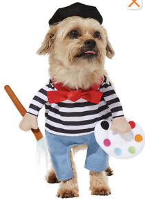 Frisco French Painter Pet Costume For Halloween- Size XXL