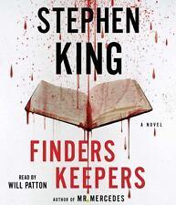 Finders Keepers by Stephen King (2015, Unabridged) 12 CDs