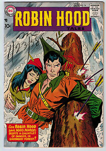 ROBIN HOOD TALES #14 7.0 LAST ISSUE ANDRU/ESPOSITO COVER/ART OW PAGES SILVER AGE