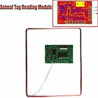 5V Animal Tag Reading Module Ear Tag Foot Ring Reader EM4305 134.2KHZ Accessory