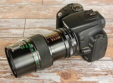 Stunning Sharp Canon EOS Digital fit Vivitar 55mm MACRO Lens F2.8 TRUE MACRO 1:1