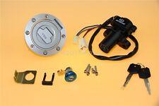 Ignition Switch Lock Fuel Gas Cap Key Set Fit Yamaha YZF R1 2004-2015 R6 FJR1300