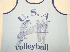 Vintage USVBA USA Volleyball Olympic Carpinteria Tank Top Sleeveless T Shirt M