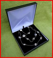Jewellery Presentation Box, Necklace Box, Leatherette Range, Gift, Weddings, New