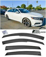 EOS Visors For 18-Up Honda Accord JDM MUGEN Style Side Window Vents Rain Guards
