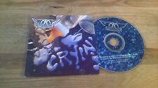 CD Rock Aerosmith - Cryin' (2 Song) MCA / GEFFEN REC cb