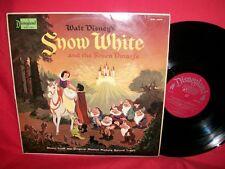 Walt Disney's Snow White And The Seven Dwarfs Biancaneve OST LP 1968 USA EX+