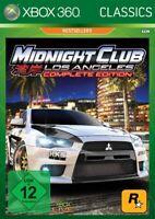 Microsoft Xbox 360 - Midnight Club: Los Rodes #Complete Edition DE/EN mit OVP