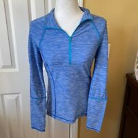 Z by Zella Blue Long Sleeve Pullover Top S