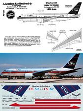 LIVERIES UNLIMITED DECALS 1/200 Boeing 767-200 (US Air)