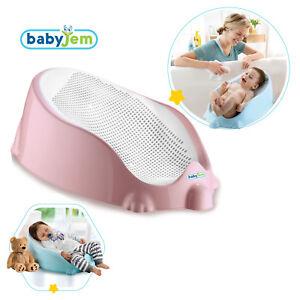BabyJem Soft Baby Bath Bathing Tub Support Seat (ART-465) PINK